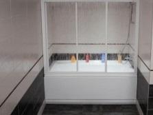 Раздвижные ширмы для ванной