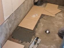 Цементная стяжка на деревянном полу