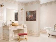 Кремовый цвет ванной