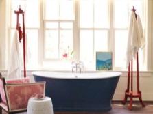 Оформление окон в ванной