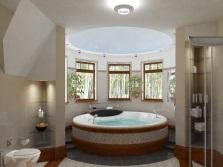 Преимущества окна в ванной
