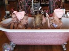 необычная алмазная ванна