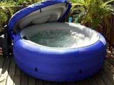 Надувной гидромассажный бассейн