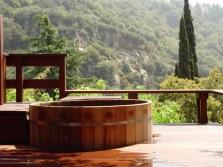 Деревянный спа бассейн