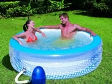 Надувной гидромассажный басейн