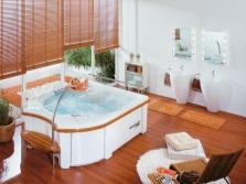 Гидромассажный бассейн в квартире