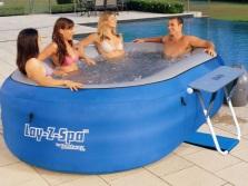 Надувной гидромассажный бассейн для дачи