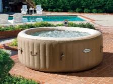 Надувной басейн с гидромассажем