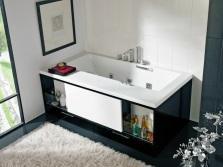 Места хранения под ванной