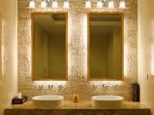 Красивые раковины в ванной