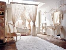 Современная и красивая ванная в классическом стиле