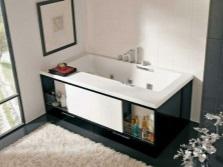 Ванна с раздвижным экраном