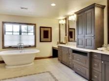 Мебель для больших ванных комнат