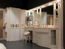Мебель для просторных ванных комнат