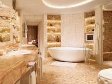 Тусклый свет в ванной комнате