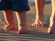 Хождение босиком по теплому песку