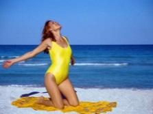 Солнечные ванны на море