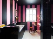 Розовый с черным