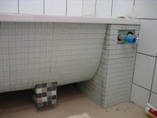 Вариант установки сифона для стиральной машинки