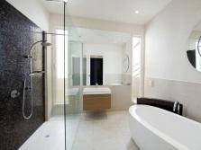 Современная ванная - минимализм
