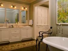 Классический стиль в современной ванной