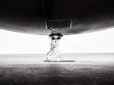 Слив воды в ванне-гамаке