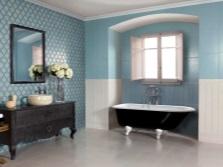 Стены - ванная в стиле прованс