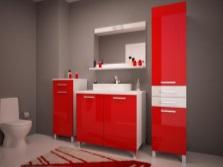 Современный мебельный гарнитур для ванной комнаты