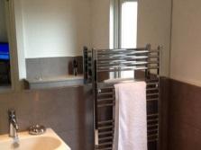 Расположение полотенцесушителя в ванной