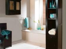 Грамотное расположение аксессуаров в ванной комнате