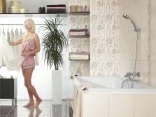 Нейтральная бежевая ванная
