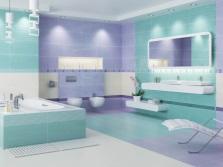 Бирюзовый + фиолетовый
