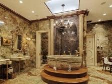 Все оттенки коричневого в ванной