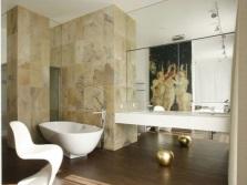 Соответствие цвета и стиля в ванной