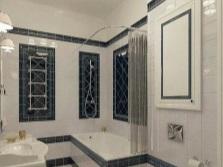 Специальная кладка плитки для ванной комнаты