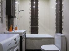 Отделка ванной для зрительного увеличения