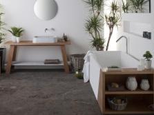Пальма в ванной