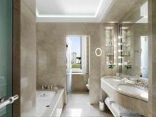 Ванная комната с отдельным санузлом в классическом стиле