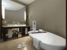Ванная комната для флегматика в сером цвете