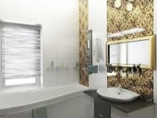 Грамотное расположение осветительной системы в ванной