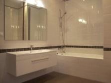 Визуальное расширение ванной