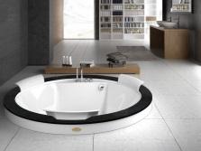 Встроенная круглая ванна