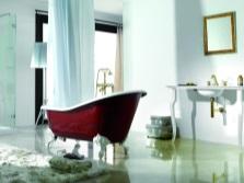 Ретро ванна в классическом стиле