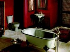 Ретро ванна в китайском стиле