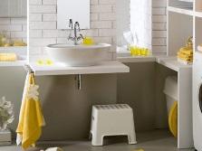 Идея планировки небольшой ванной комнаты