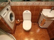 Использование мини сантехники в маленькой ванной