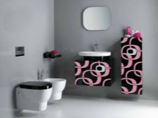 Необычная компактная сантехника в ванной комнате