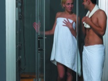 Турецкая баня в душ-кабине