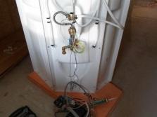 Монтаж электрической проводки кабинки