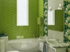 зеленная ванная